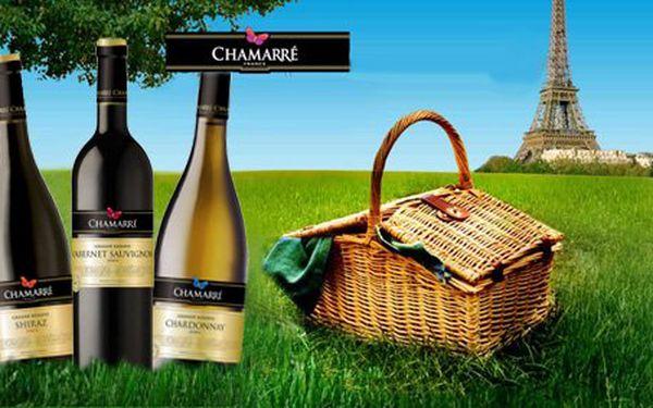599 Kč za set tří francouzských vín dle výběru. Chardonnay Gran Reserva Chamarré 2006, Cabernet sauvignon Gran Reserve 2005, Tradition Bordeaux 2003 a Shiraz Gran Reserve 2005. Sleva 66 %.