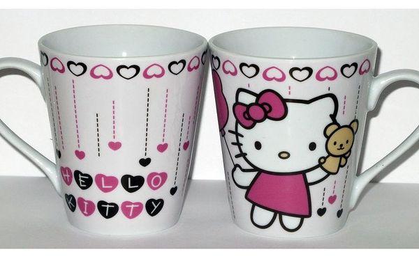 Krásné a kvalitní hrnečky pro kluky i pro holky v dárkovém balení s motivem Hello Kitty nebo The Simpsons za 100 Kč se slevou 50 % + malý dáreček nebo sleva na další zboží 25 %. Kupón lze uplatnit do 31.8.2011
