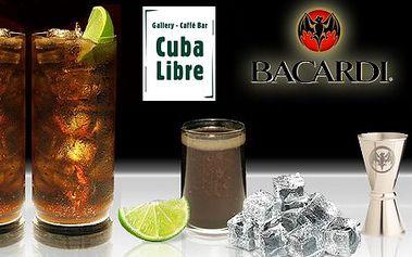 55 Kč za DVĚ originální Cuba libre plus zařazení do soutěže o cenu v hodnotě 25,000 Kč. Radujte se z léta v baru Cuba Libre s 60% slevou!