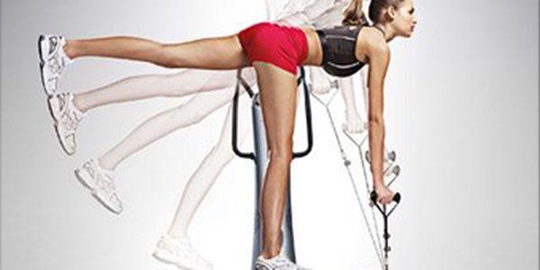 LETNÍ AKCE! Jednorázový vstup do dámského fitness studia zapouhých 30Kč nebo 1 x cvičení na Power Plate za35 Kč včetně iontového nápoje dle vašeho výběru. Dámy, spalte tuky na problémových partiích, zatočte s celulitidou a posilněte svalstvo s fajn slevou až65 %!