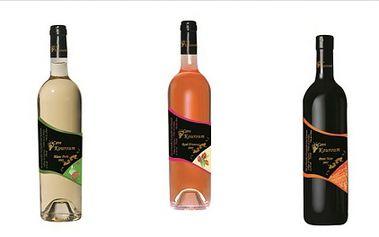 Vychutnejte si luxusní vína z Orientu! Za pouhých 250 Kč získejte set libanonského bílého vína Perle Blanc 2009, růžového vína Rosé D'Amour 2009 a červeného vína Petit Noir 2005! Vína z vinařství Cave Kouroum mají řadu medailí z prestižních výstav!