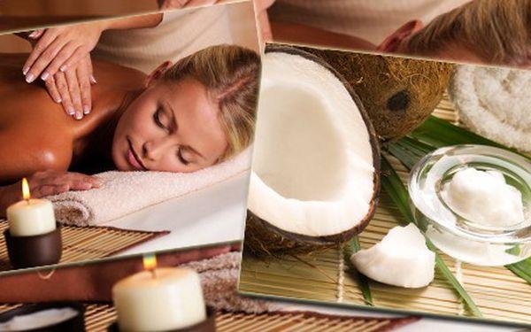 Hýčkejte svoje tělo i smysly! Kokosové pohlazení z rukou opravdových profesionálů, 30minutová kokosová masáž zad a rukou pravým rozdrceným kokosem ZA POUHÝCH 199 Kč!