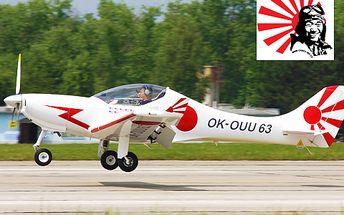 Staňte se na chvíli pilotem a zkuste si sami řídit letadlo! 41% sleva na 20minutový let špičkovým letounem. Ideální pro milovníky letadel, létání i simulátorové nadšence!