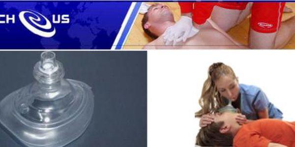 40% sleva na Kanadskou resuscitační masku, která Vám pomůžou zachránit život!