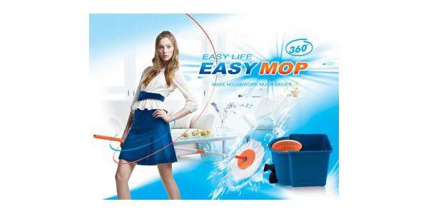 Rotační mop MAGIC 360° + 2 hlavice za pouhých 599 Kč. Díky tomuto úžasnému systému se mytí podlahy stane zábavou.