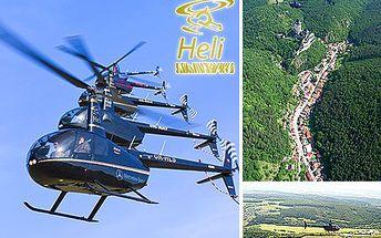 Prožijte adrenalinový zážitek spolu s Vašimi blízkými! Proleťte se vrtulníkem nad věžemi hradu Karlštejn a prohlédněte si okolí z ptačí perspektivy se slevou 50 %.