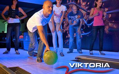 Probuďte svého soutěžního ducha a užijte si s přáteli hodinu bowlingu za fantastických 125 korun! Bowlingové boty máte navíc zcela zdarma.