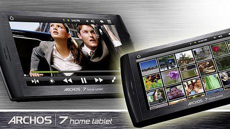 Držte krok s dobou a pořiďte si Tablet Archos 7!! Komprosim mezi mobilním telefonem a počítačem! Nyní za neuvěřitelnou cenu 2607 Kč!! I vy ho můžete mít !