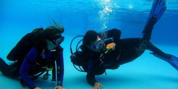 Hodina ochutnávky potápění v bazénu v Mladé Boleslavi jen za 499Kč! Zažijte pocity opravdových potápěčů a udělejte svůj první ponor se zkušeným instruktorem. Ochutnávka potápění v Mladé Boleslavi pouze nyní se slevou 58%! Zažijte krásné pocity dlouhých ponorů a vyzkoušejte si potápění s přístrojem!