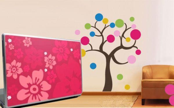 Vyzdobte si pokoj, kancelář nebo svůj notebook rychle a jednoduše - samolepkou! Vybírat můžete z mnoha motivů a 100 druhů. Nyní Vás bude jedna stát jen 30 Kč!