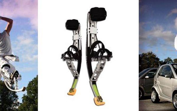 """199 Kč za hodinu na """"trampolínových"""" botách. Svištěte vzduchem s 66% slevou!"""