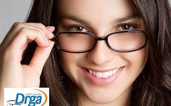 Nové brýle s 60% slevou! Kupon v hodnotě 500 Kč jen za 200 Kč. Vyberte si brýle dioptrické, sluneční či dětské a nakupte poukazů kolik chcete!
