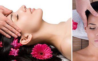 Úžasná antistresová masáž hlavy a obličeje od profesionální masérky! Uvolněte Vaše smysly a relaxujte...