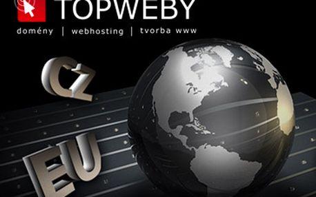 Pouhých 171 Kč za roční provoz webhostingových služeb + vlastní doména dle výběru ZDARMA (výběr: CZ, EU, COM, NET, ORG). Vše co potřebujete pro provoz svých www stránek. Kupóny můžete uplatnit pro registraci nové domény či převod služeb! Báječná sleva 71% + doména zdarma!