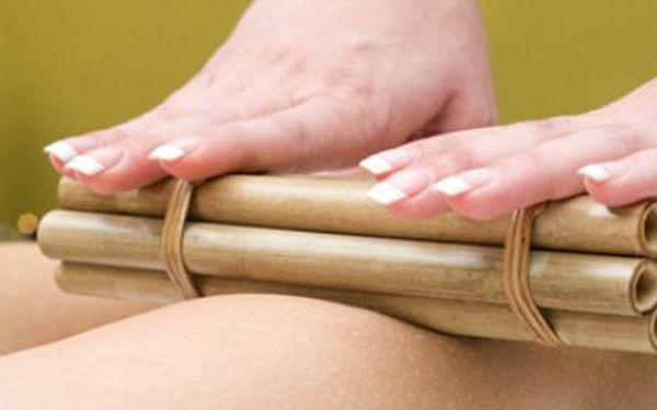 Oddejte se exotické uvolňující masáži bambusovými tyčemi za využití bambusového oleje se slevou 35% !