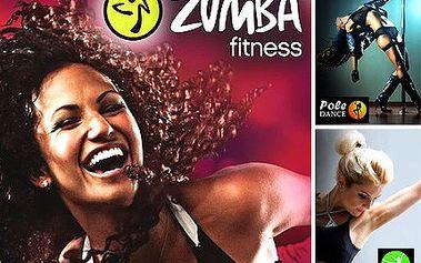 Zumba, Pole či Port de bras a kila bere ďas. Tancem nejen ke skvělé postavě, ale i povznesené náladě se slevou 54 %.