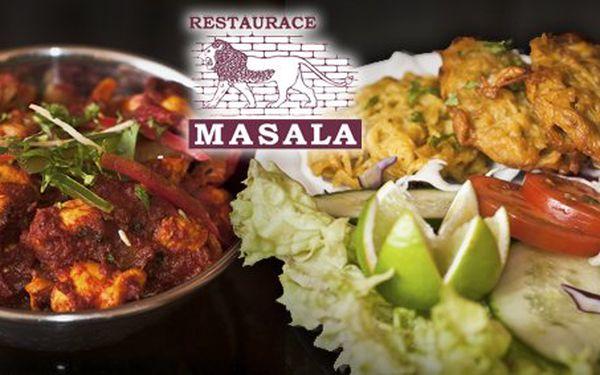 349 Kč za cokoli z jídelního lístku v hodnotě 700 Kč v indické restauraci Masala Pod Karlovem!