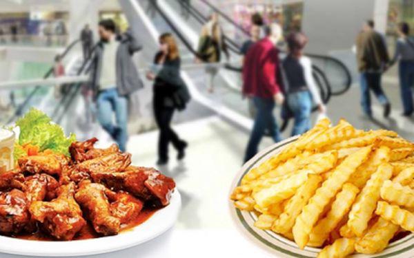 Dejte si dobré jídlo za skvělou cenu! 3x pečená křídla + hranolky + dvě omáčky na jednu porci. Nyní zaplatíte pouze 48 Kč! Přijďte si pochutnat s báječnou slevou!