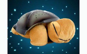 Hrající a svítící magická želva se slevou 42 % !! Vaše děti budou tuto želvičku milovat!!