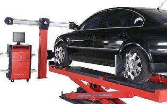 Silnice po kterých jezdíte sice opravit neumíme, ale seřídit geometrii kol po najetí do díry zvládneme na jedničku a to ještě s 58% slevou! Správně seřízená geometrie kol Vám zaručí správné rovnoměrné sjíždění pneumatik, a tak PRODLOUŽÍ jejich životnost. Udělejte něco pro svou bezpečnost a zároveň zvyšte životnost pneumatik Vašeho auta! Špatné seřízení Vašich kol může způsobit nepředvídatelné a nebezpečné chování Vašeho vozidla na silnici!