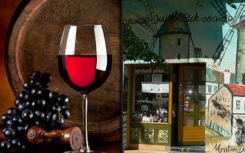 Ochutnejte Francii a dopřejte si opravdový požitek z vína! 1litr červeného sudového vína z francouzského Bordeaux se slevou 34% jen za 89 korun!