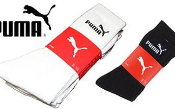 3 páry ponožek PUMA za skvělých 129 Kč.