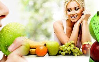 Měření tělesné skladby speciálním body monitorem.Sestavení jídelníčku zdarma!! Změńte své životní návyky k lepšímu a začněte žít zdravě!! Skvělá nabídka se 75% slevou!!