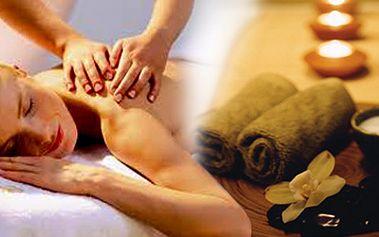 Relaxační masáž celého těla ve 2 hodinách, ve kterých zapomenete na stres. Skvělá nabídka z původních 1690 Kč na 845 Kč.