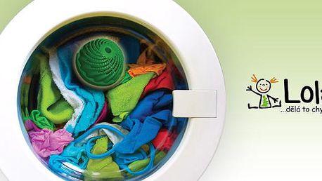 Zakupte si míček do pračky s magnetem se 40% slevou. Ušetřete náklady na praní a životní prostředí! Lola - míček do pračky je revoluční myšlenka, která Vám přinese mnoho výhod! Vaše prádlo bude voňavé a čisté bez použití chemikálií.