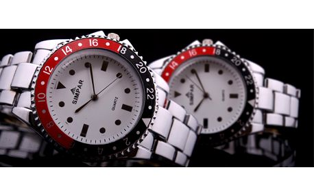 Neodolatelná nabídka! Exkluzivní cena 98 Kč za pánské hodinky SIMPAR Fashion SV-854 v hodnotě 490 Kč! Nyní se slevou 80%!! Udělejte svému partnerovi radost!!