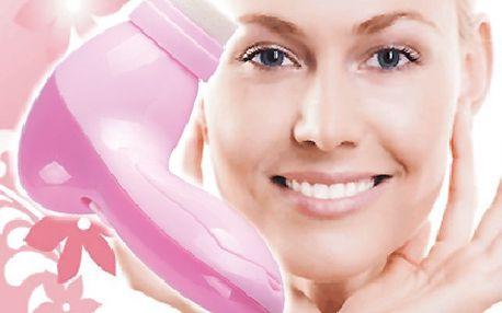 Dokonalé uvolnění a péče o pleť - Masážní strojek pro obličej!