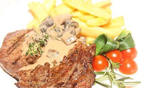 350 Kč místo 680 Kč za vynikající 600 g steakové menu pro DVA ve Steakhouse Jáma v centru Prahy! Objevte tu pravou výjimečnou chuť světových steaků s 48% slevou! OPAKOVÁNÍ ÚSPĚŠNÉ KAMPANĚ!!