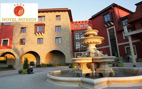 Vychutnajte si nezabudnuteľný víkendový pobyt pre dvoch v luxusnom 4* hoteli Patriot so vstupom do vodného sveta