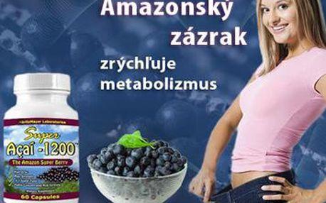 Pripojte sa aj Vy k štíhlym potvorám, ktoré si môžu pochutnať na čomkoľvek a nepriberú! Objavte pozitívne účinky Acai Berry - ovocia z Amazonského pralesa. Pôsobí veľmi dobre na zníženie hmotnosti, zrýchľuje metabolizmus, odbúrava tukové bunky a znižuje c