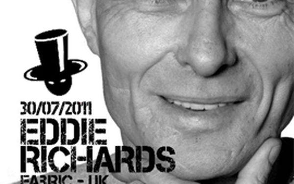 Eddie Richards – zakladatel techna a house stylu. Vstupné a pivo. 45% off!