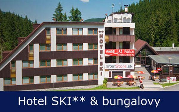 Oddýchnite si vo dvojici v malebnom prostredí Nízkych Tatier vďaka ubytovaniu pre 2 osoby na 2 noci s raňajkami v Hoteli SKI** & bungalovy Jasná, Nízke Tatry len za 59,90€.