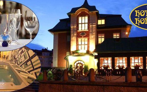 2290 Kč za DVĚ noci pro DVĚ osoby v horském hotelu Hořec**** v Peci pod Sněžkou. Spousta vyžití v Krkonošském národním parku s 50% slevou.