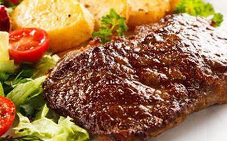 Jedinečný gurmánsky zážitok v centre Bratislavy ! Vychutnajte si poriadnu porciu výborného obedu s partnerom alebo kamarátmi v štýlovej reštaurácii Rechobot. Namiesto pôvodných 7,40 € zaplatíte teraz skvelých 2,50 €.