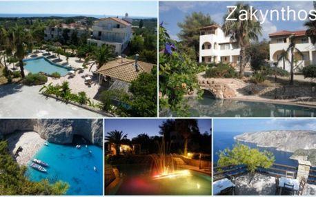 14 denní zájezd autobusem na řecký ostrov Zakynthos s návštěvou Benátek, Delf, Olympie, Dolomit a 2 celodenní výlety po ostrově Zakynthos v termínu 11.9. - 25.9. 2011 s ubytováním v 3 hvězdičkovém FKK hotelu Panorama za úžasnou cenu 12.590 Kč!