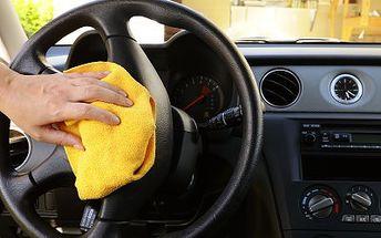 500 Kč za exkluzivní ruční mytí interiéru vozu v hodnotě 1000 Kč