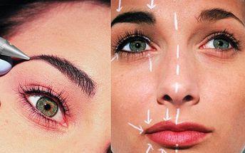 Permanentní make-up obočí, kontur rtů nebo očních linek metodou mikropigmentace jen za 2000Kč! Mikropigmentace jako bezriziková metoda permanentního make-upu Vám umožní být trvale decentně nalíčená! Přirozený vzhled nalíčení během chvíle!