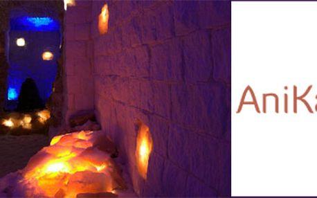 Romantický noční pobyt v solné jeskyni AniKa v Hradci Králové