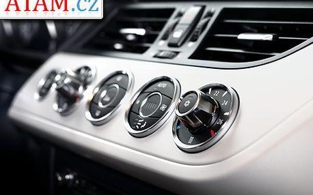 Zlepšete výkon vaší autoklimatizace, dopřejte si čistý a čerstvý vzduch než vyrazíte na dovolenou: 55% sleva na kompletní čištění a doplnění klimatizace, a to BEZ rozdílu typu vozu!