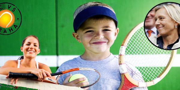 Tenisová školička na měsíc pro děti od 4 do 10 let v nádherném tenisovém klubu, kde byla členkou i Martina Navrátilová!