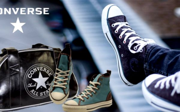 Využijte poukaz v hodnotě 400 Kč jen za 200 Kč a buďte styloví s Converse! Oslavujte ducha rebélie a originality v basketbalu, rock&rollu a kdekoliv jinde!