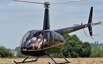990 Kč (běžná cena 2099 Kč) za nezapomenutelný let vrtulníkem nad zámkem Konopiště a vodní nádrží Slapy pro 1 osobu! Nenechte si ujít adrenalinový zážitek a pozorujte krásy Čech z ptačí perspektivy se slevou 53%!