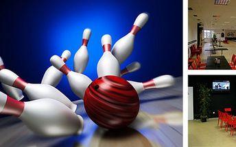 2 hodiny sportu, zábavy a relaxace při bowlingu v Bowling Baru Předměřice za skvělých 199 Kč