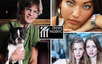 Každý Brňák ocení, profesionální focení! Profi fotografie od Zbyňka Maděryče přímo v srdci Brna nebo v originálním atelieru se slevou 55 %.
