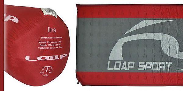 Skvělé řešení pro pohodlné spaní! LOAP LINA - samonafukovací karimatka.
