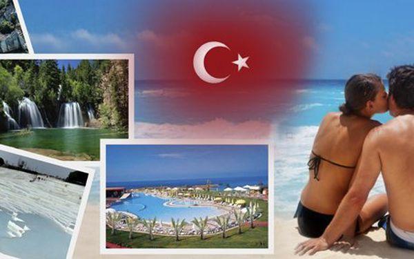 6990 Kč za letecký zájezd do Turecka na 8 dní v hodnotě 13 980 Kč! Moře, pláže, polopenze i možnost výletů a báječná dovolená se slevou 50 %.